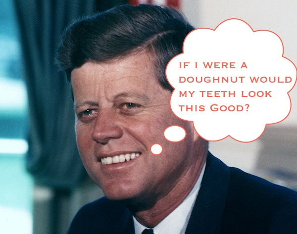 JFK Disclaims Donut Myth